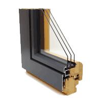 Composite window frame