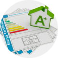 A rated energy certificate