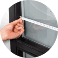 Measuring replacement double glazing