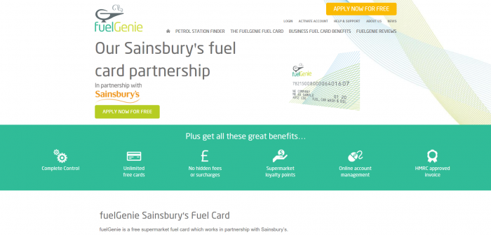 Sainsburys Screenshot