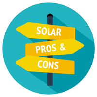 Image result for pros and cons of solar panels