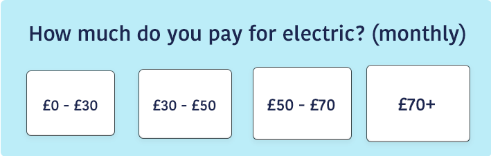 How much are your electric bills?