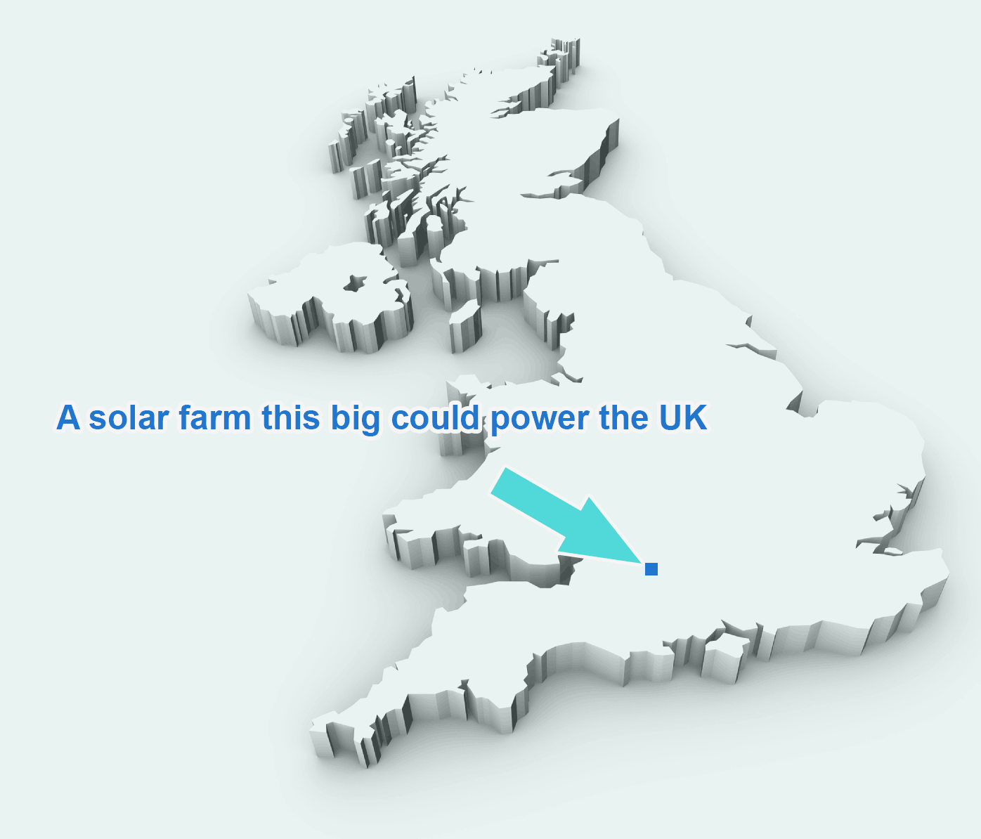 Solar map UK