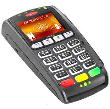 Ingenico card machine