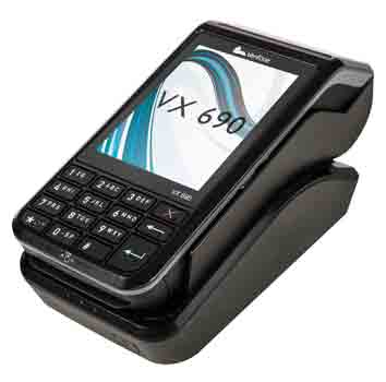 Verifone card machine