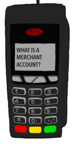 What is a merchant account icon