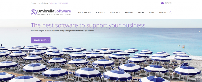 Umbrella Software Screenshot