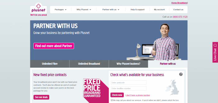 Plusnet Screenshot