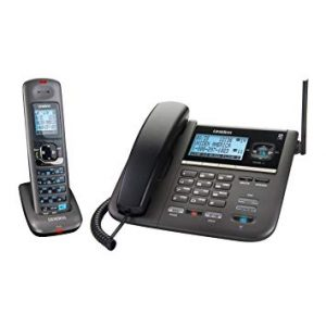 Uniden DECT4096 Cordless and Corded Desk Phone