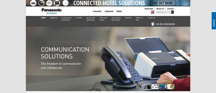 Panasonic Screenshot