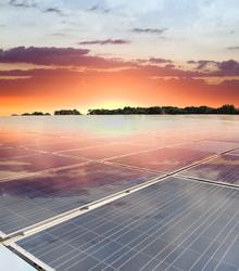 The Sunshine Energy Solar Array near Sarasota. (Photo courtesy of Florida Power & Light.)