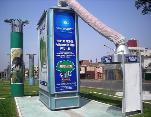 The super tree (super arbol) air purifier