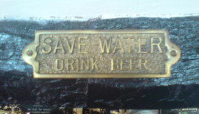 Save Water Drink Beer. CC photo by Flickr user futureshape