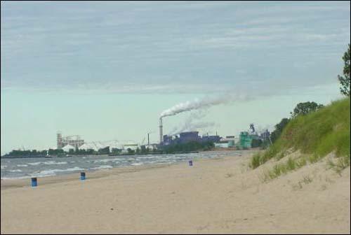 Indiana shoreline