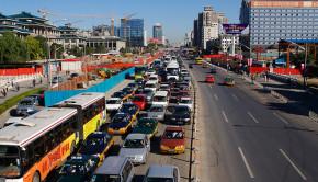 Beijing commute traffic