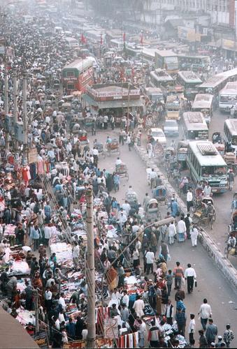 Dhaka, Bangladesh traffic