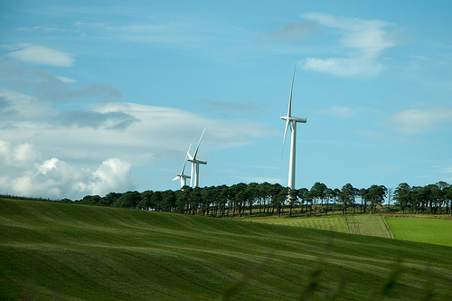 wind turbines in scotland