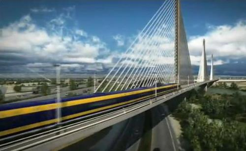 California high-speed rail video screenshot