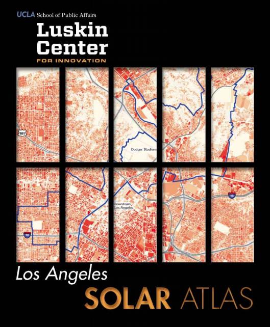 los angeles rooftop solar map