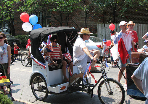 bicycle pedicab nc