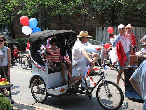 bicycle pedicab nc