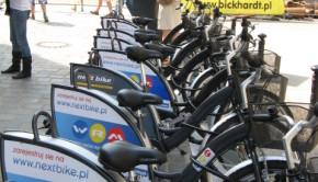 Wroclaw NextBike Bike Sharing Program 1