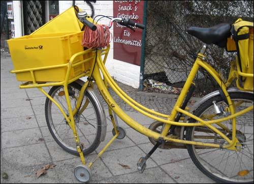 german mail bike