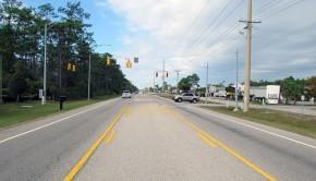orange beach road before remake