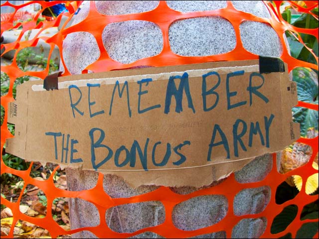 Occupy Portland Bonus Army