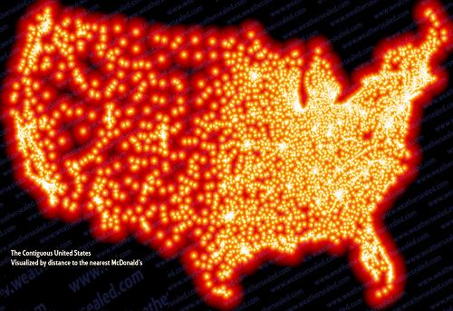 US Mcdonald locations