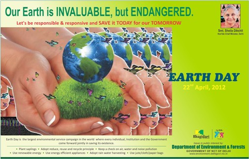 Delhi Earth Day 2012