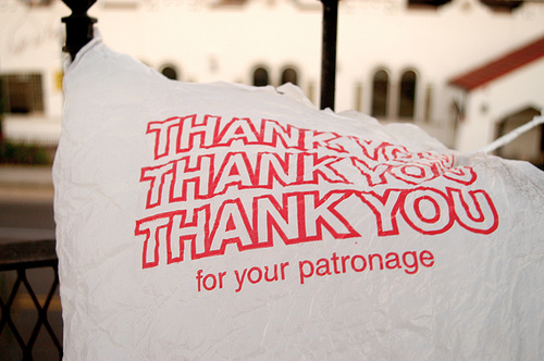 Thank You Plastic Bag!