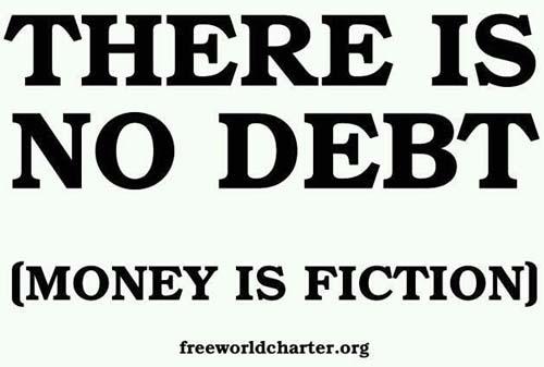 debt is fiction