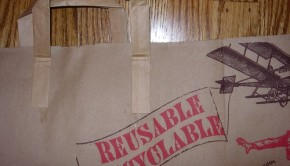 Paper Bag Resusable Recyclable