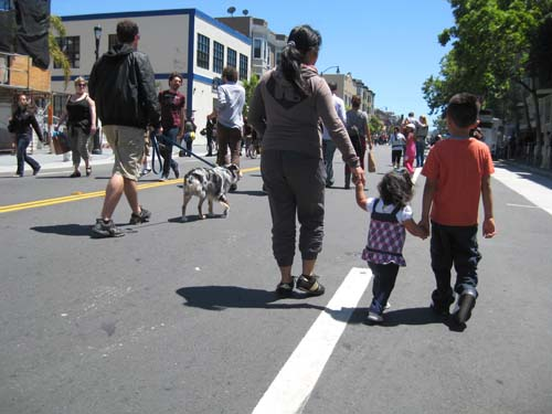 Sunday Streets in San Francisco's Mission District