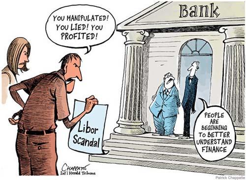 LIBOR scandal cartoon