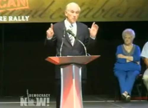 Ron Paul gives speech in Tampa