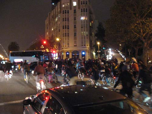 Critical Mass in San Francisco
