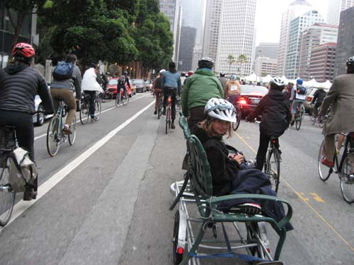Critical Mass in San Francisco 9/28/12