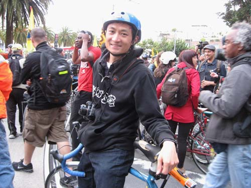 Frank Chan at Critical Mass