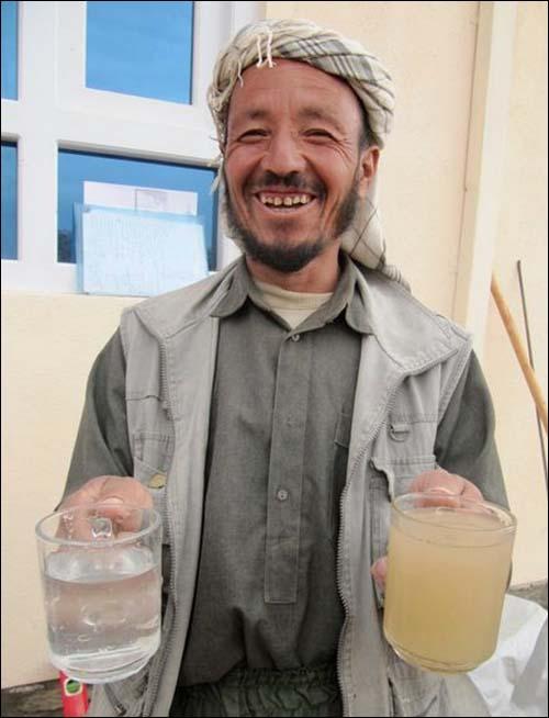 Bringing clean water to Afghanistan
