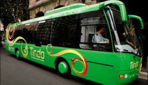 tindo solar-powered bus