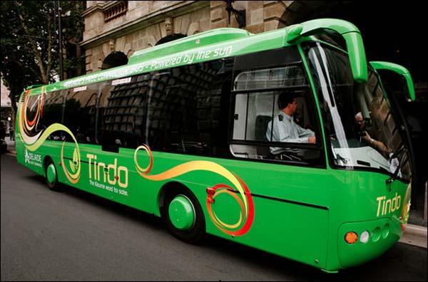 tindo solar-powered bus