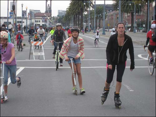 sunday streets in SF