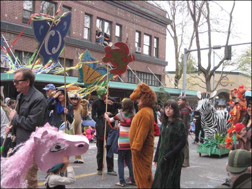 procession of the species 2014