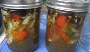 canned veggies