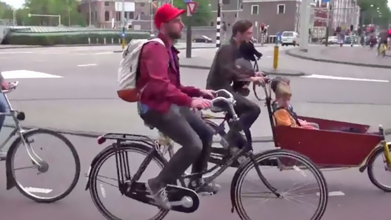 cycling culture in Amsterdam
