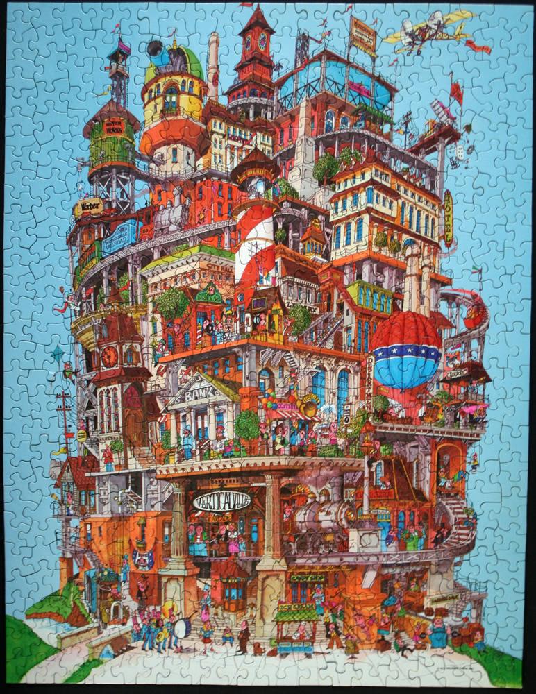 VerticalVille Jigsaw Puzzle